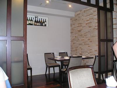葡萄房(ぶどうぼう) イタリア料理 店内