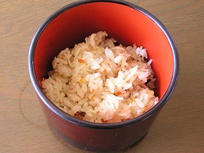 白魚(しろうお)料理 白魚かご飯