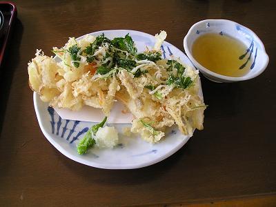 白魚(しろうお)料理 白魚かきあげ