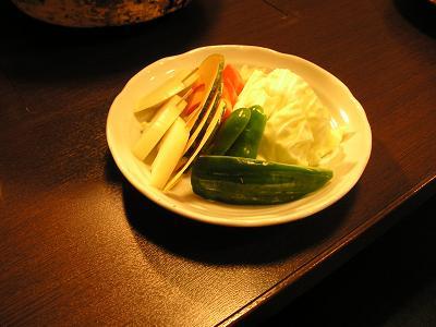 焼肉小田部 焼き野菜