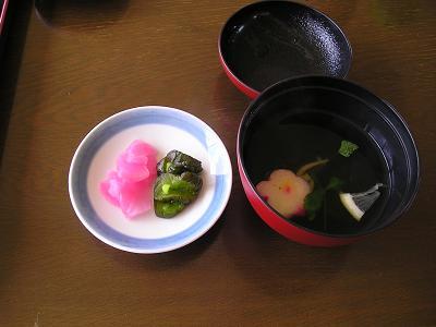 白魚(しろうお)料理 白魚お吸い物
