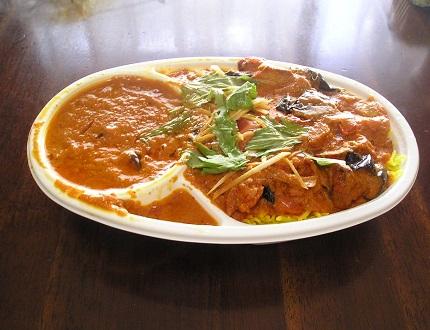 カジャナ(D.KHAJANA) 茄子とポークのカレー